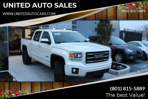 2015 GMC Sierra 1500 for sale at UNITED AUTO in Millcreek UT
