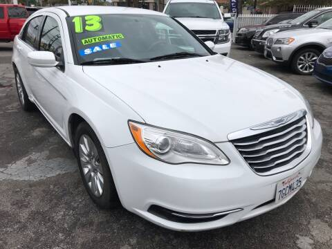 2013 Chrysler 200 for sale at CAR GENERATION CENTER, INC. in Los Angeles CA
