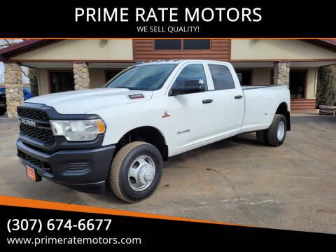 2021 RAM Ram Pickup 3500 for sale at PRIME RATE MOTORS in Sheridan WY