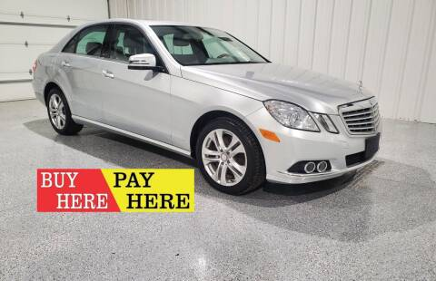 2011 Mercedes-Benz E-Class for sale at Hatcher's Auto Sales, LLC - Buy Here Pay Here in Campbellsville KY