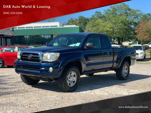 2008 Toyota Tacoma for sale at DAB Auto World & Leasing in Wake Forest NC