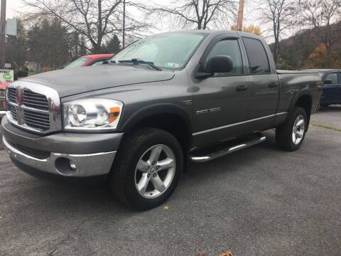 2007 Dodge Ram Pickup 1500 for sale at K B Motors in Clearfield PA