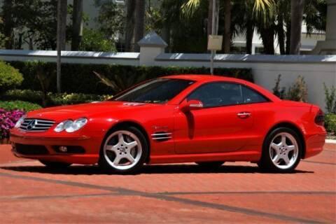 2003 Mercedes-Benz SL-Class for sale at Classic Car Deals in Cadillac MI