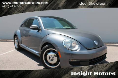 2013 Volkswagen Beetle for sale at Insight Motors in Tempe AZ