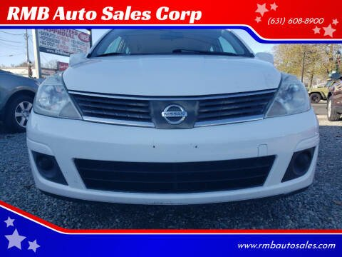 2009 Nissan Versa for sale at RMB Auto Sales Corp in Copiague NY