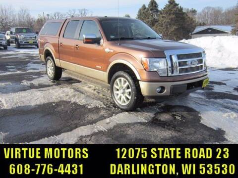 2012 Ford F-150 for sale at Virtue Motors in Darlington WI