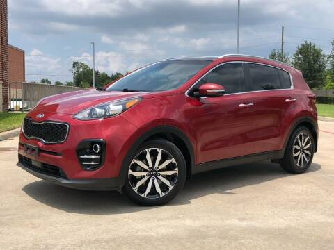 2017 Kia Sportage for sale at AUTO DIRECT in Houston TX