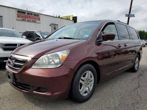 2007 Honda Odyssey for sale at MENNE AUTO SALES in Hasbrouck Heights NJ