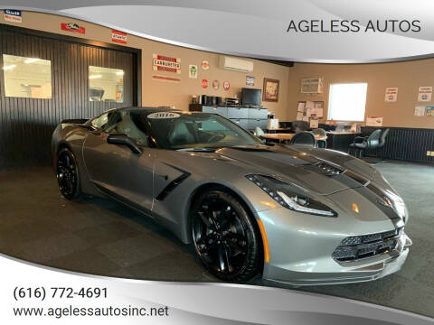 2016 Chevrolet Corvette for sale at Ageless Autos in Zeeland MI