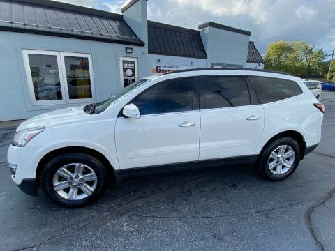 2014 Chevrolet Traverse for sale at Huggins Auto Sales in Ottawa OH