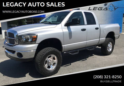 2008 Dodge Ram Pickup 2500 for sale at LEGACY AUTO SALES in Boise ID