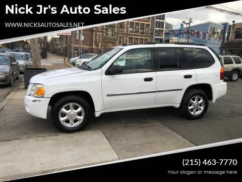 2007 GMC Envoy for sale at Nick Jr's Auto Sales in Philadelphia PA