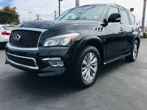 2017 Infiniti QX80 for sale at Auto Max of Ventura in Ventura CA