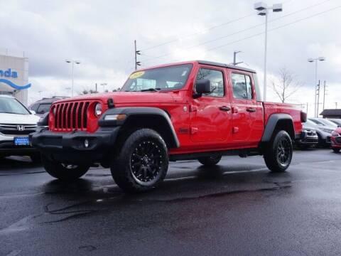 2020 Jeep Gladiator for sale at BASNEY HONDA in Mishawaka IN
