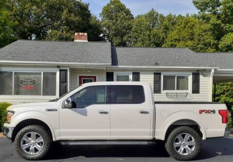 2018 Ford F-150 for sale at SIGNATURES AUTOMOTIVE GROUP LLC in Spartanburg SC