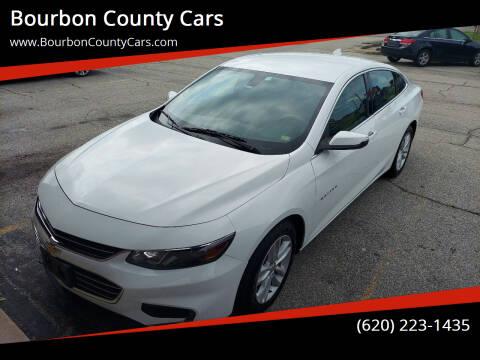 2016 Chevrolet Malibu for sale at Bourbon County Cars in Fort Scott KS