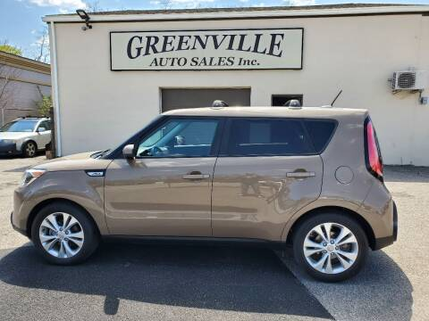 2015 Kia Soul for sale at Greenville Auto Sales in Warwick RI