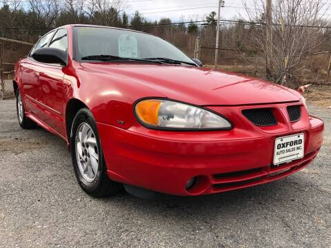 2004 Pontiac Grand Am for sale at Oxford Auto Sales in North Oxford MA