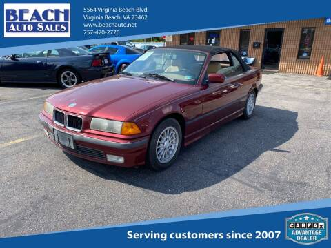 1996 BMW 3 Series for sale at Beach Auto Sales in Virginia Beach VA