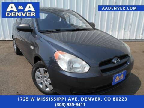 2009 Hyundai Accent for sale at A & A AUTO LLC in Denver CO
