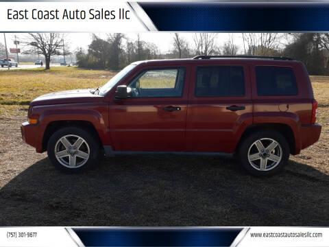 2008 Jeep Patriot for sale at East Coast Auto Sales llc in Virginia Beach VA