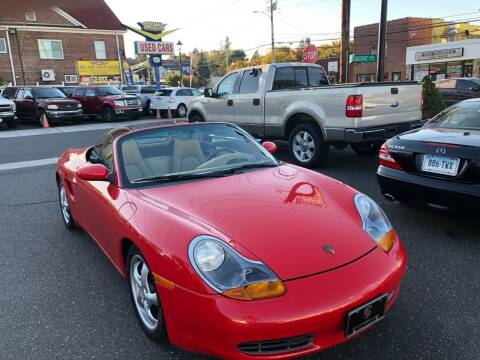 1999 Porsche Boxster for sale at Bel Air Auto Sales in Milford CT