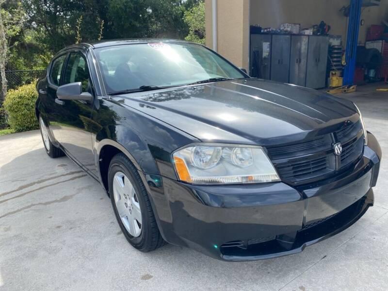 2010 Dodge Avenger for sale at Jeff's Auto Sales & Service in Port Charlotte FL