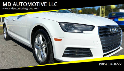 2017 Audi A4 for sale at MD AUTOMOTIVE LLC in Slidell LA