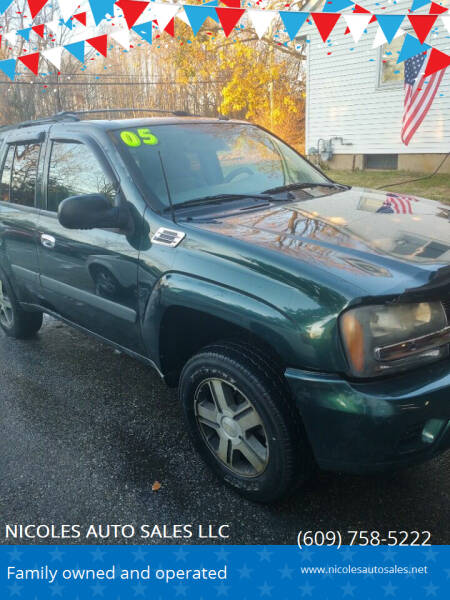 2005 Chevrolet TrailBlazer for sale at NICOLES AUTO SALES LLC in Cream Ridge NJ