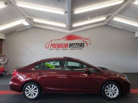 2012 Honda Civic for sale at Premium Motors in Villa Park IL
