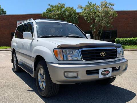 2001 Toyota Land Cruiser for sale at AutoMax of Memphis - V Brothers in Memphis TN