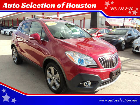 2016 Buick Encore for sale at Auto Selection of Houston in Houston TX