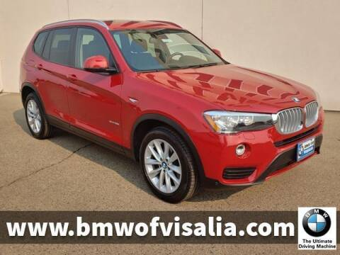 2017 BMW X3 for sale at BMW OF VISALIA in Visalia CA