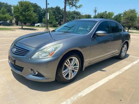 2013 Infiniti G37 Sedan for sale at Safe Trip Auto Sales in Dallas TX