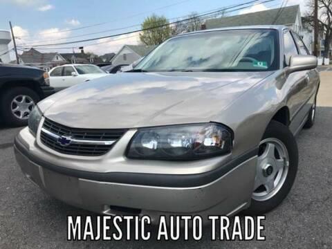 2003 Chevrolet Impala for sale at Majestic Auto Trade in Easton PA