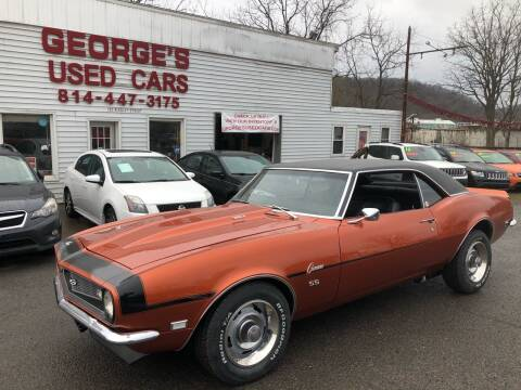 1968 Chevrolet Camaro for sale at George's Used Cars Inc in Orbisonia PA