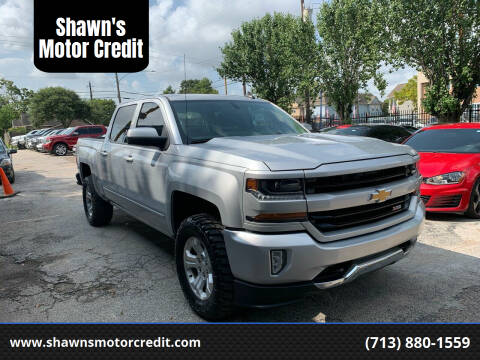 2017 Chevrolet Silverado 1500 for sale at Shawn's Motor Credit in Houston TX