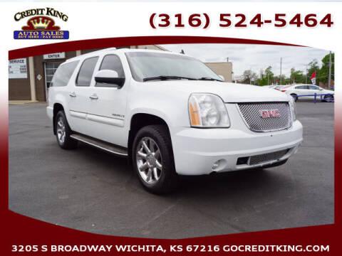2008 GMC Yukon XL for sale at Credit King Auto Sales in Wichita KS