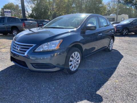2014 Nissan Sentra for sale at THE COLISEUM MOTORS in Pensacola FL