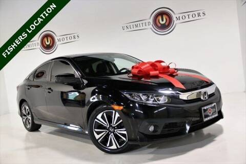 2016 Honda Civic for sale at Unlimited Motors in Fishers IN