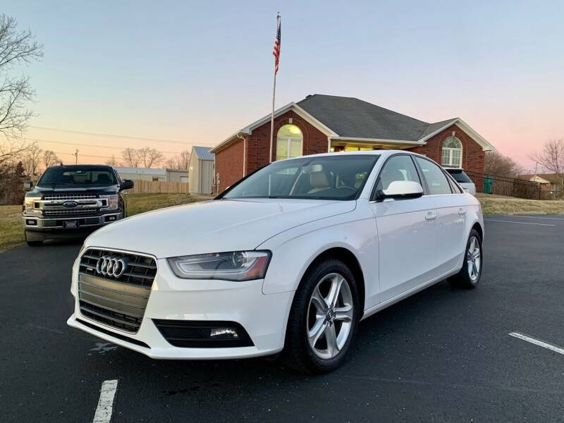 2013 Audi A4 for sale at HillView Motors in Shepherdsville KY