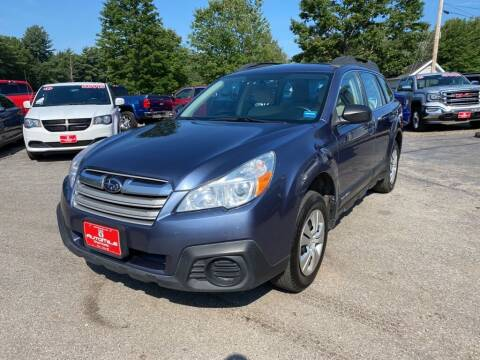 2014 Subaru Outback for sale at AutoMile Motors in Saco ME