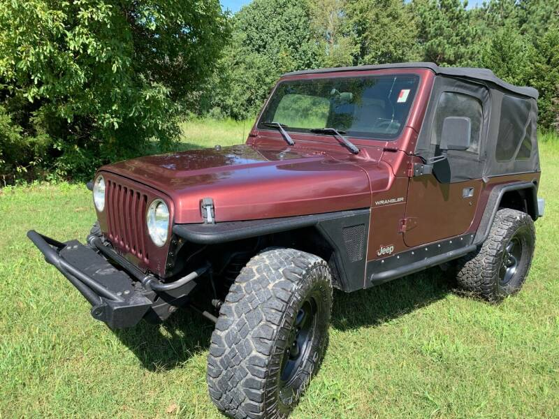 2001 Jeep Wrangler for sale at Samet Performance in Louisburg NC