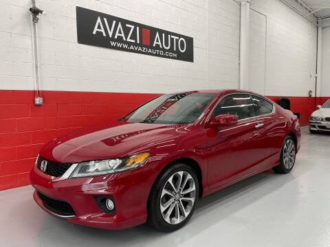 2013 Honda Accord for sale at AVAZI AUTO GROUP LLC in Gaithersburg MD