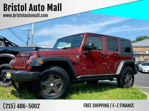 2009 Jeep Wrangler Unlimited for sale at Bristol Auto Mall in Levittown PA