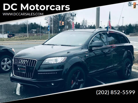 2014 Audi Q7 for sale at DC Motorcars in Springfield VA