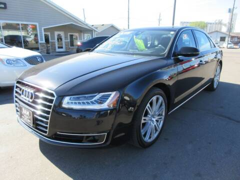 2015 Audi A8 L for sale at Dam Auto Sales in Sioux City IA