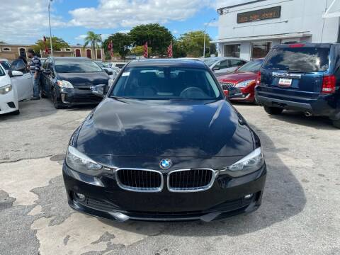 2014 BMW 3 Series for sale at America Auto Wholesale Inc in Miami FL