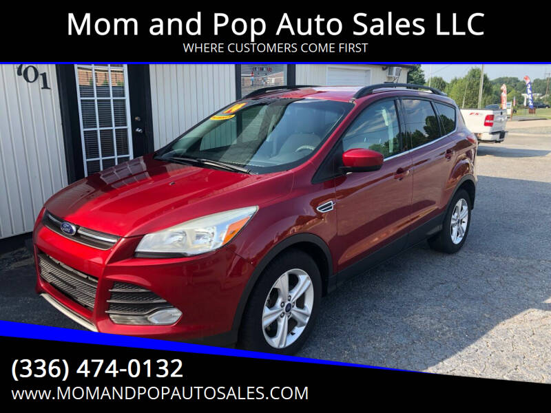 2014 Ford Escape for sale at Mom and Pop Auto Sales LLC in Thomasville NC