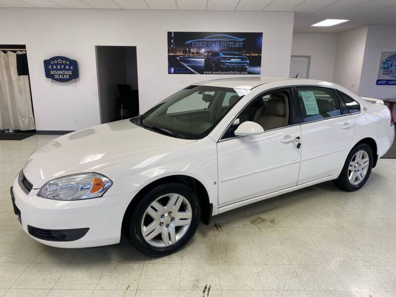 2007 Chevrolet Impala for sale at Used Car Outlet in Bloomington IL